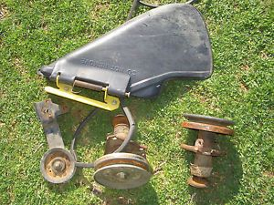 "John Deere 38"" Mower Deck Parts Lot LT133 LT155 Lawn Tractors"
