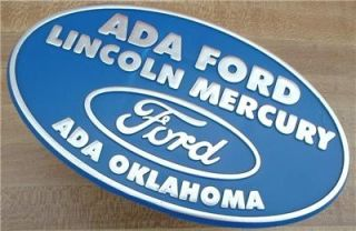 ADA Ford Oklahoma Hitch Cover Plug Trailer Truck New