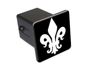Fleur de Lis Saints Tow Trailer Hitch Cover Plug Insert Truck RV