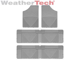 Weathertech® All Weather Floor Mats Toyota Sienna 1998 2003 Grey