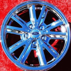 "Set of 4 New Chrome 16"" Ford Mustang V6 Wheels Rims Escape Explorer 3587"