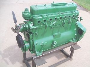 Oliver 77 SUPER77 770 Oliver Farm Tractor Gas Motor Engine Runs Great