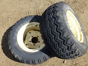 Cub Cadet 1200 Tractor Firestone 23x10 50 12 Rear Tires Rims