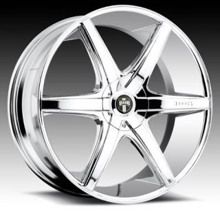 "22"" Dub RIO6 for BMW Wheels Rims 5 6 7 Series 645 650 745 750 760 M5 M6 X5"