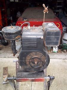 Vintage Briggs Stratton Model 14 Air Cooled Gas Engine Motor