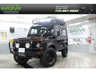 Consignment Sale 1995 Land Rover Defender 90 Loaded 1 Owner Clean Carfax