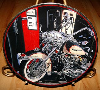 Harley Davidson Heritage Softail Classic Motorcycle Franklin Mint Plate
