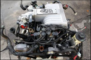 Ford Explorer GT40 5 0 Engine Heads Intake 65 Mustang Cobra EFI Swap Kit
