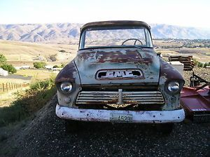 1957 GMC Big Window Pickup Truck Short Bed Chevrolet Chevy 57