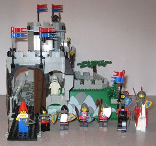 Lego Set 6081 King's Mountain Fortress – 100 Complete Castle Crusaders