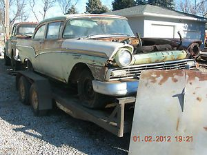 1957 Ford Fairlane 300 500 2 Door Project Car Parts Rat Rod 312 252 292 FoMoCo
