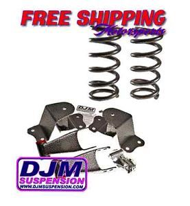 1997 2002 Ford F150 2 4 DJM lowering Drop Kit Coils Shackles Hangers