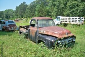 1955 Ford F 100 Pickup Truck Parts Car