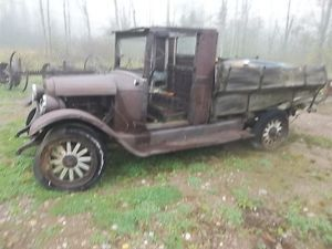 Antique Chevy 1920's Chevy Parts Truck Wooden Spoke Wheels Early Chevy Truck