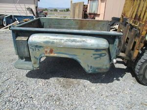 1955 66 GMC Chevy Truck Short Bed Step Side Box from The Nevada Desert