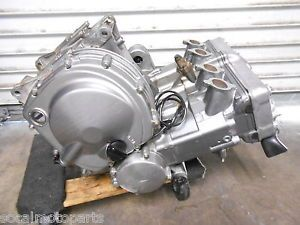 1996 ZX6 93 04 Kawasaki ZZR600 ZX6E Engine Motor Transmission Good Complete Runs