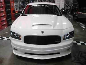 Dodge Charger Painted PW1 Stone White RAM Air Hood LG Scoop 2006 2010 06 10