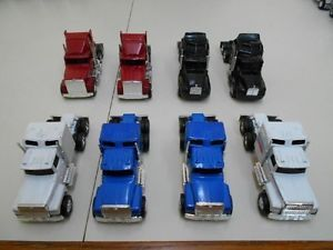8 Ertl Semi Trucks for Display Parts or Custom Build Kenworth Ford International