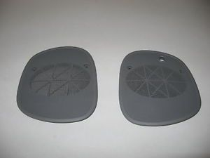 New S10 Xtreme Dash Speaker Covers Blazer Extreme Sonoma Jimmy Pewter Free SHIP