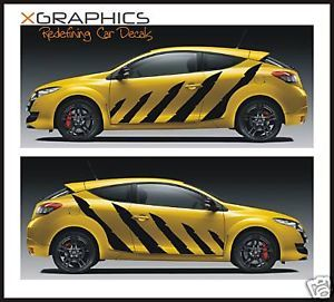 Tiger Predator Stripes Decal Kit Stickers Car Graphics
