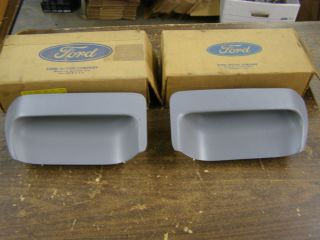 Ford 1971 1972 1973 Mustang RAM Air Hood Scoop Inserts NASA Hood Mach 1