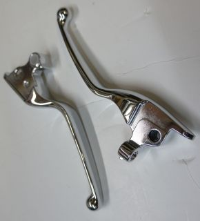 Chrome Levers 4 Harley Davidson Sportster Models XL 04 11 Brake Clutch