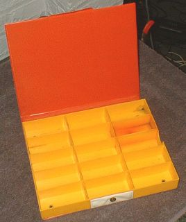 Aurora HO Scale Slot Car Carrying Case Holds 15 Cars