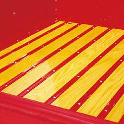 Plain Steel Bed Strips 55 56 57 1955 2nd Series 1956 1957 Chevy Truck Long Bed