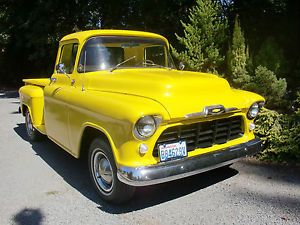 1957 Chevy Long Bed Restored Pickup Truck