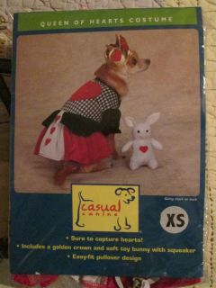 Casual Canine Dog Halloween Pet Costume Queen of Hearts Costume