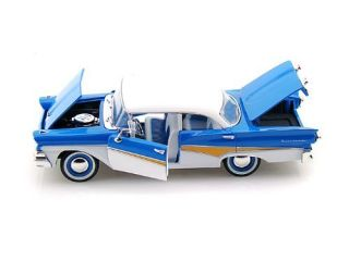 1958 Ford Fairlane 500 Arko Vintage Vehicle Diecast 1 32 Blue White