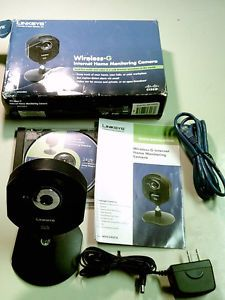 Linksys Wireless G Internet Home Monitoring Camera WVC54GCA