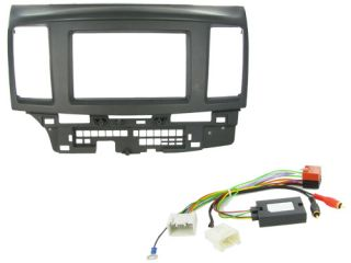 Mitsubishi Lancer Car Stereo Double DIN Radio Replacement Fitting Kit CTKMT04