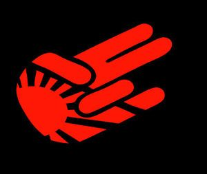 Shocker Japan Flag Rising Sun Vinyl Decal Sticker Car