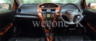 TFP New Toyota Yaris VIOS 07 10 Type 1 5e A T Wood Dash Part Trim