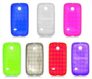 For Huawei Ascend II 2 M865 Prism Straight Talk Candy TPU Cover Rubber Case