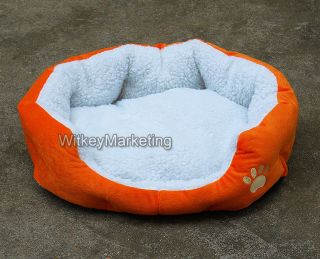Cozy Soft Warm Fleece Pet Bed Puppy Dog Beds Cat Mat House New 5 Colors s L
