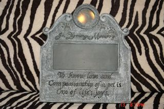 Personalized Pet Memorial in Loving Memory Dog Cat Pet Memorial Stone Yard Stake
