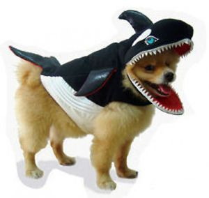 Killer Whale Pet Dog Costume Great for Halloween