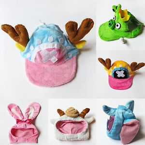 Bear Deer Bee Bunny Frog Pet Dog Halloween Costume Baseball Cap Hat Hood Apparel