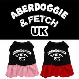 Abercrombie Fitch UK Dog Dress Pet Puppy Princess Clothes Apparel Skirt Costume