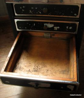 Antique NCR National Cash Register Base 4 Drawer Art Deco Store Cabinet