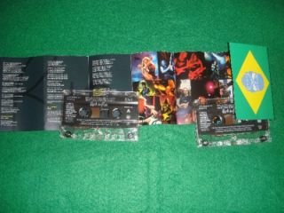 Iron Maiden Rock in Rio 2001 Live 2 Cassettes Never Played RARE Live