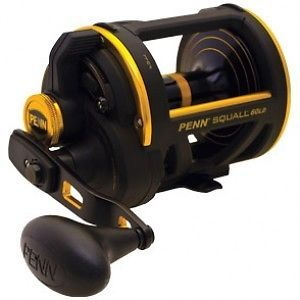 Penn Squall SQL60LD Saltwater Lever Drag Big Game Fishing Reel New