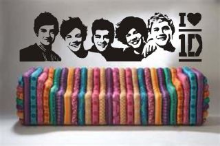 One Direction Band Mural Vinyl Wall Art Decal Sticker Transfer OD1