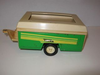 Vintage 1960's Tonka Pop Up Trailer Camper