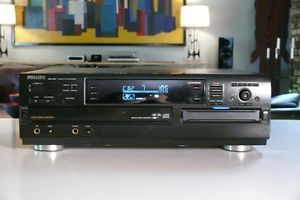 Philips CDR785 Audio CD Dual Tray Recorder 3 Disc Changer CDR 785 CD Burner CD R
