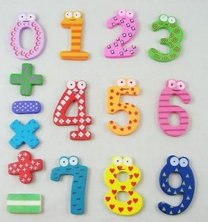 Baby Child Kids Learning Numbers Alphabet Magnici Fridge Magnet Development Toy