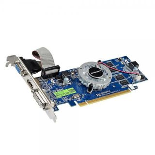 Gigabyte Radeon HD6450 1GB Graphics Video Card DVI HDMI VGA PCI E GV R645 1GI