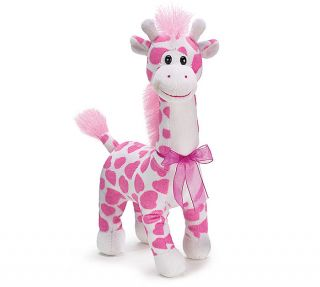 Pink Heart Giraffe Traci Valentine Toy Stuffed Animal Plush Baby Gift
